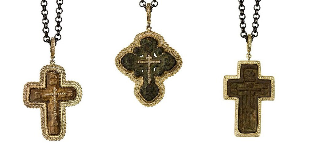 Cynthia Ann Jewels Antique Crosses