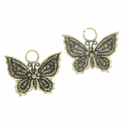 Closeup photo of Butterfly Charms