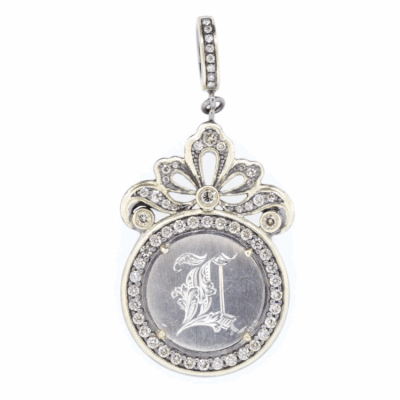 "Love Token Engraved With ""L"""