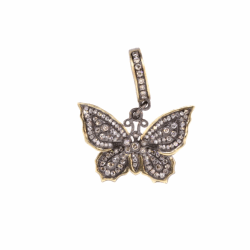 Closeup photo of Butterfly Pendant Sterling