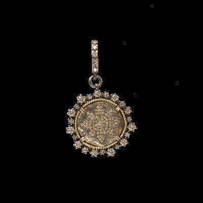 Medieval Spanish Flower Coin