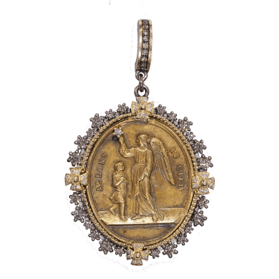 French Guardian Angel Medal