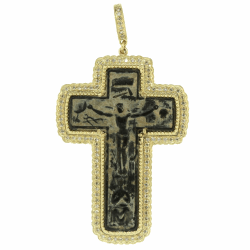 Closeup photo of Antique Crucifix Passion Cross