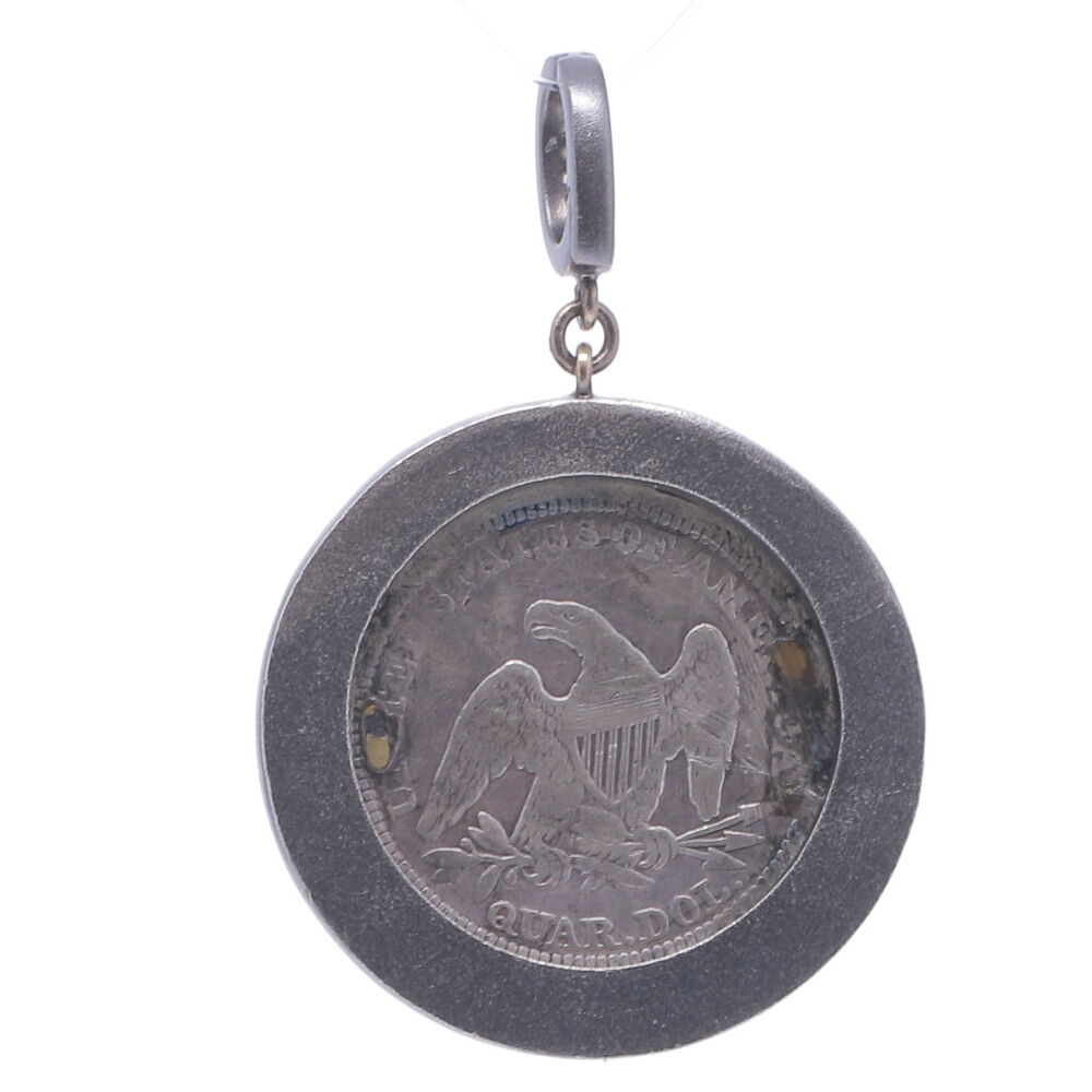 """Image 2 for Love Token Engraved With """"D"""""""