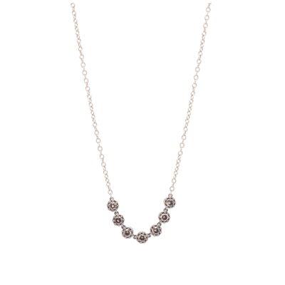 """Closeup photo of Diamond Bar Necklace 18"""""""
