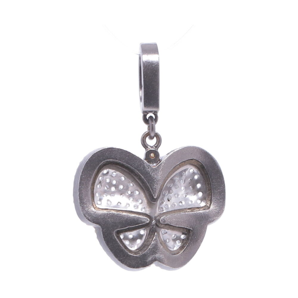 Image 2 for Pave Diamond Butterfly Pendant