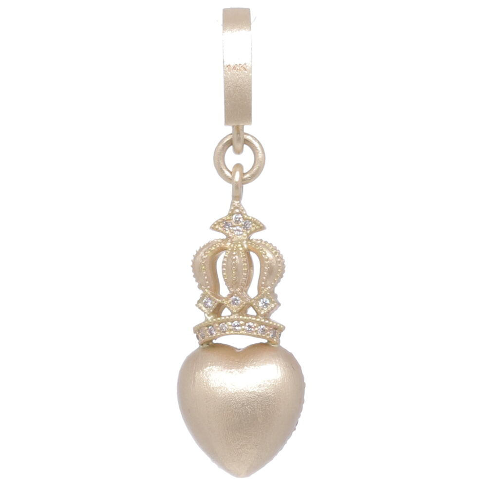Image 3 for Crowned Heart Pendant