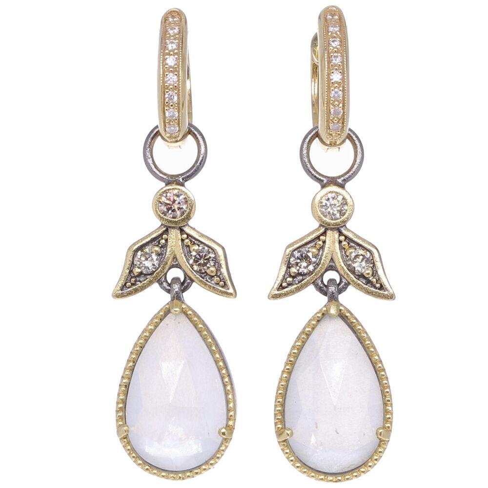 Angel Diamond Earring Charms