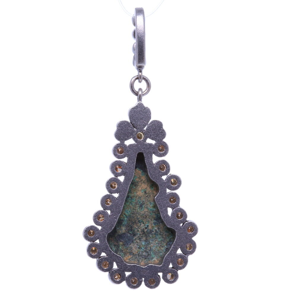 Image 2 for Ancient Lady of Guadalupe Artifact Pendant