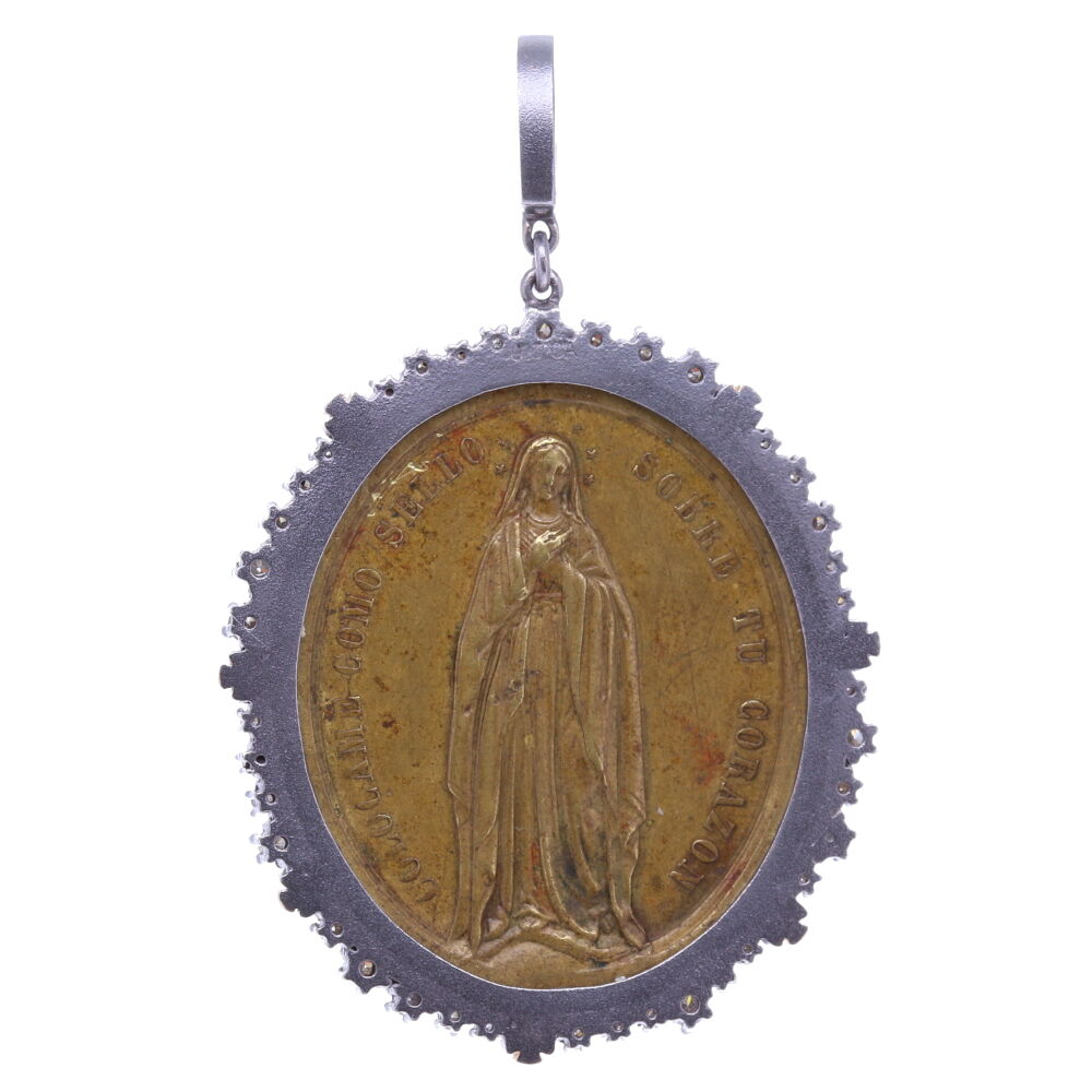 Image 2 for Spanish Ave Maria Pendant