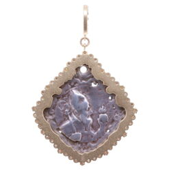 Closeup photo of 18th C. Mary and Child Pendant