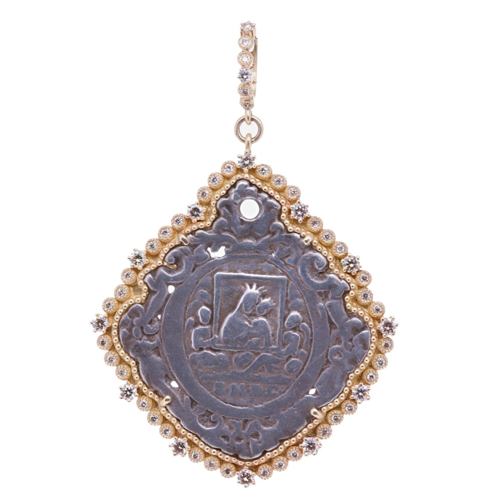 18th C. Mary and Child Pendant