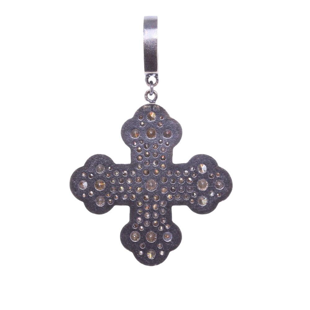 Image 2 for Classic Diamond Cross Pendant