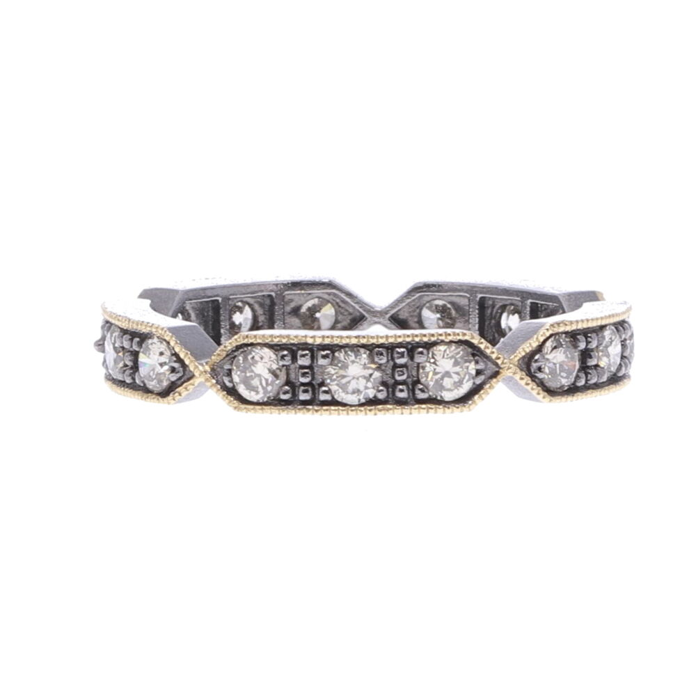 Lizzie Diamond Eternity Band Ring