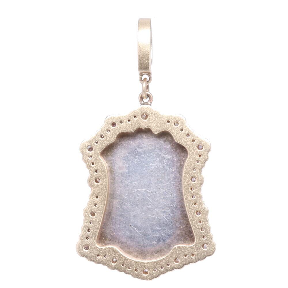 Image 2 for St. Hubert & Virgin Mary Pendant