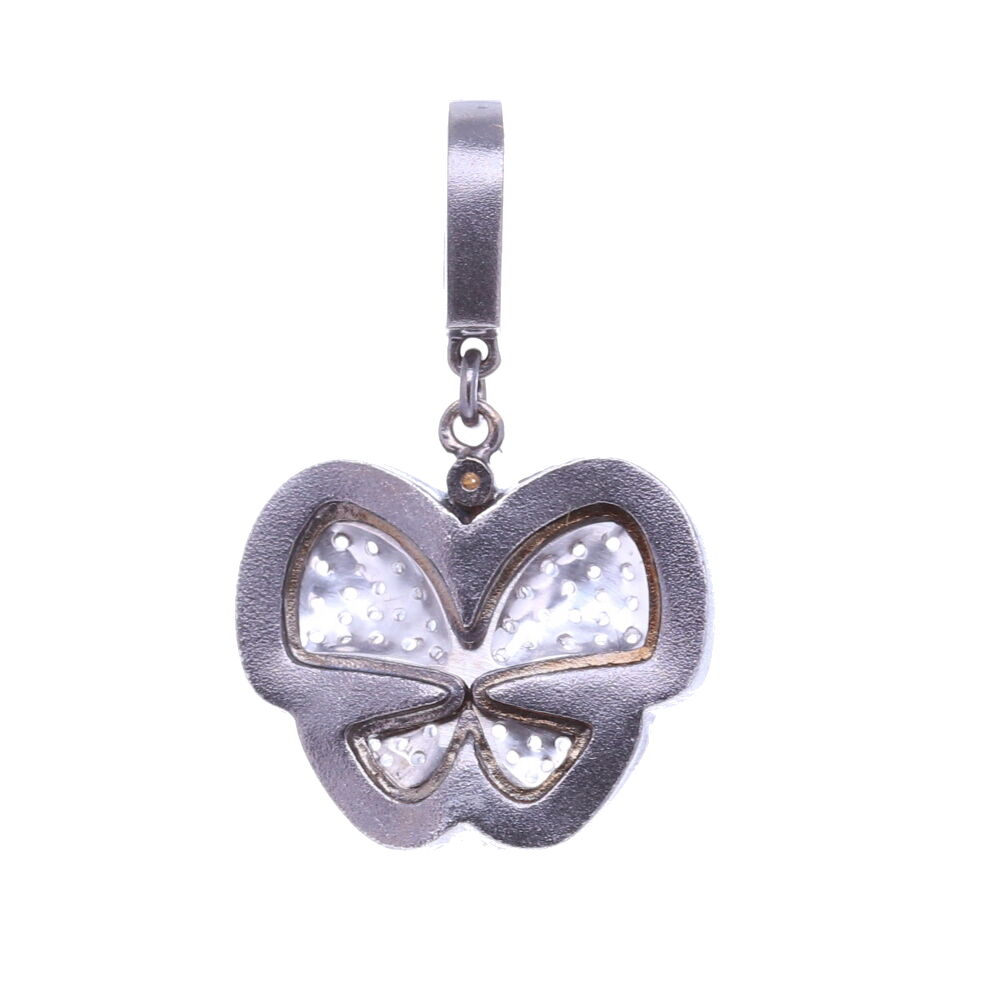 Image 2 for Diamond Butterfly Pendant