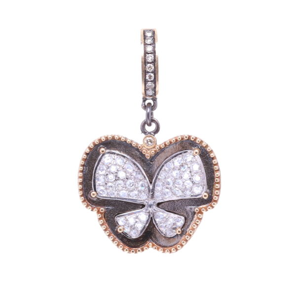 Closeup photo of Diamond Butterfly Pendant
