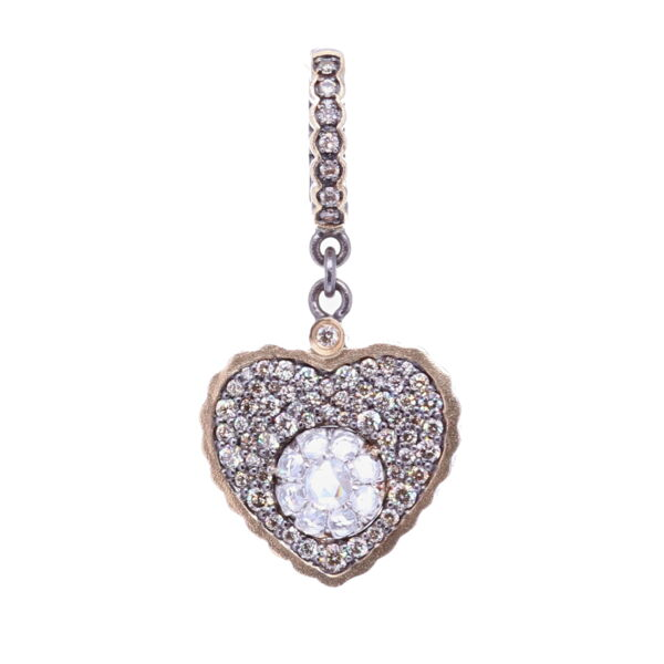 Closeup photo of Heart shaped Pendant