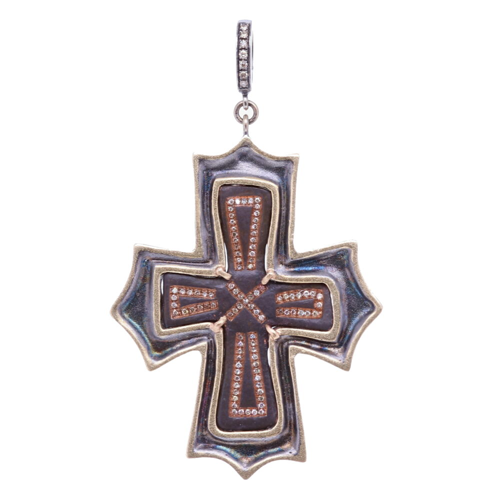 Ancient Byzantine Cross Pendant