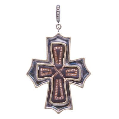 Ancient Byzantine Cross Pendant