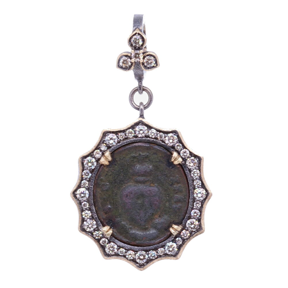 Ancient Sacred Heart Pendant
