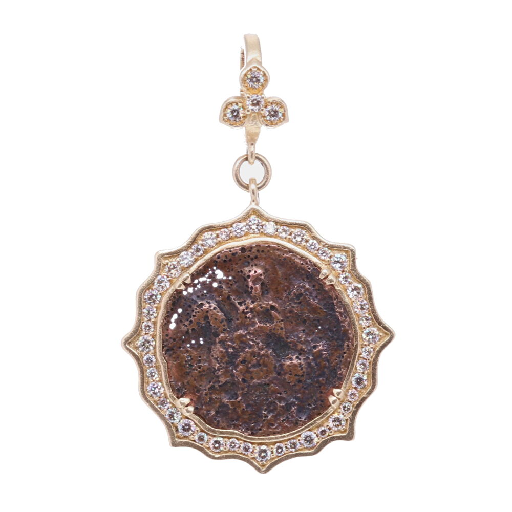 Antique St. George Pendant