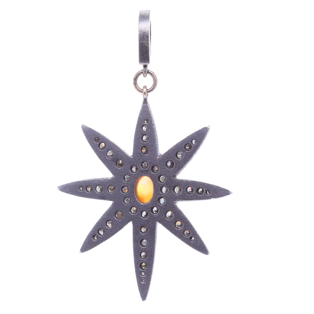Image 2 for Large North Star Opal Pendant