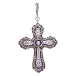 Closeup photo of Edwardian Cross Pendant