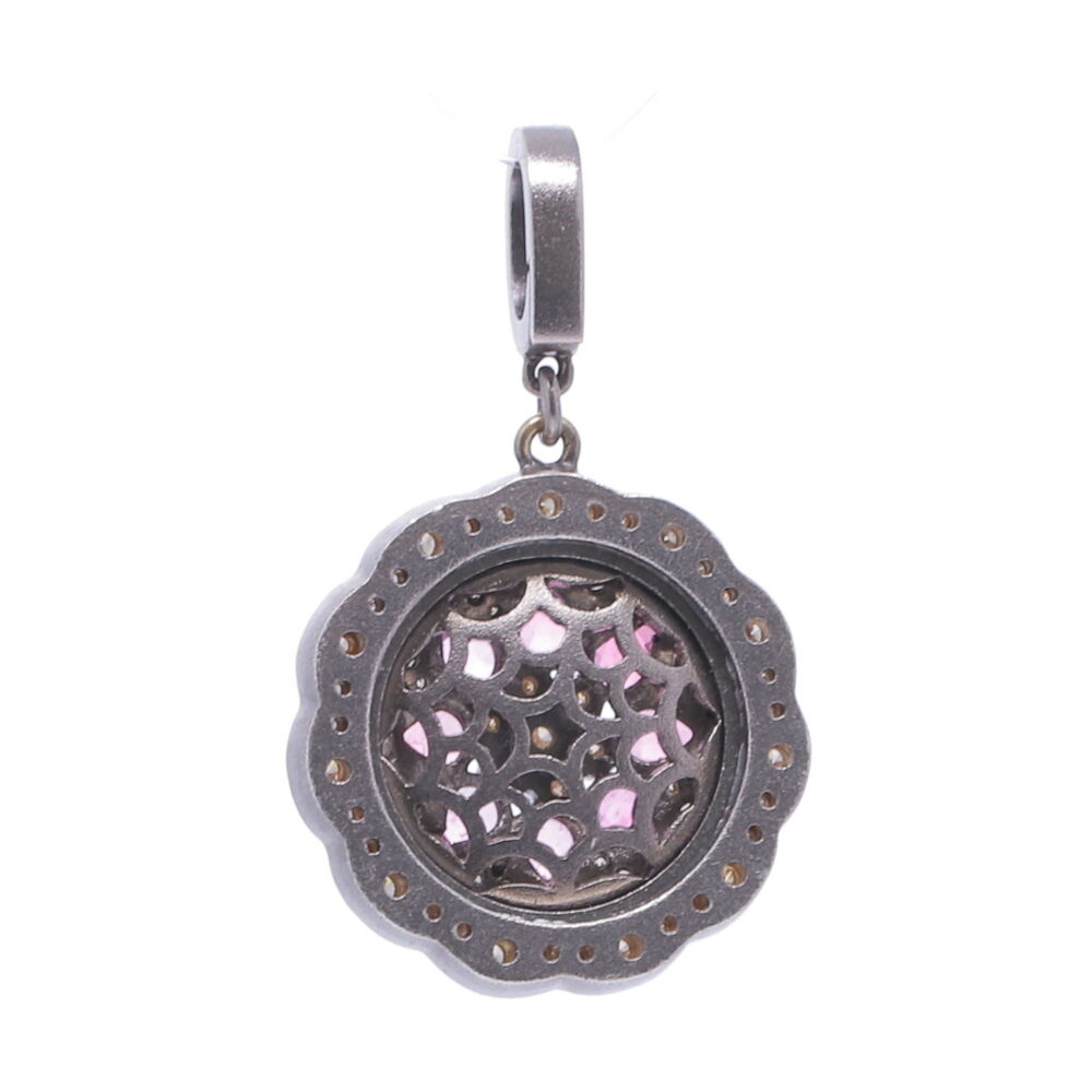 Image 2 for Pink Sapphire Bloom Pendant
