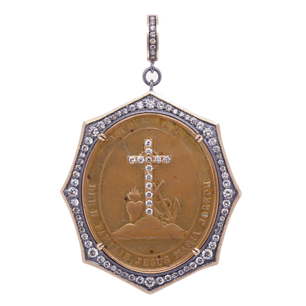 German Family of Jesus, Mary, and Joseph Pendant