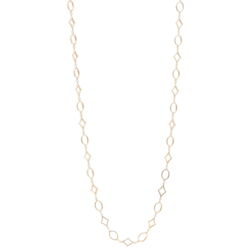 "Closeup photo of 32"" Oval/DIA shaped Yellow Gold Necklace"