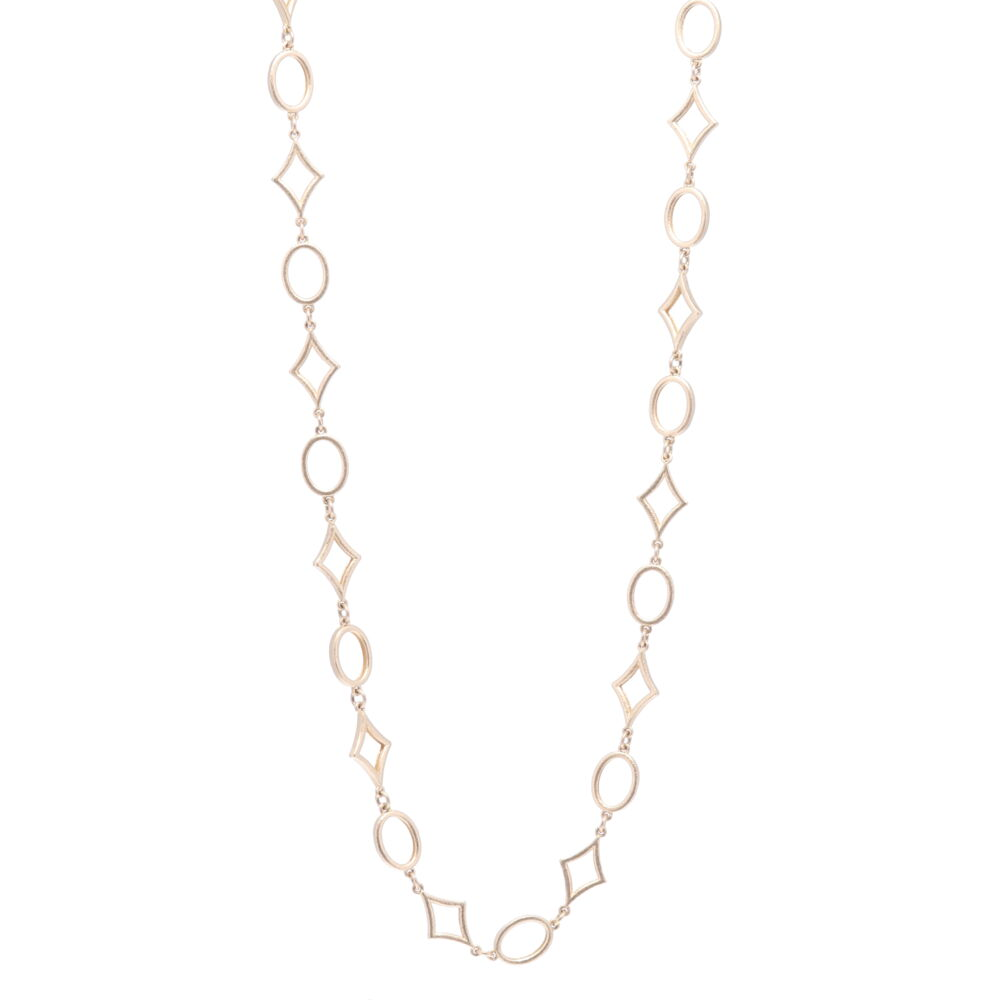 """Limited Edition Yellow Gold Star Link Chain 32"""""""