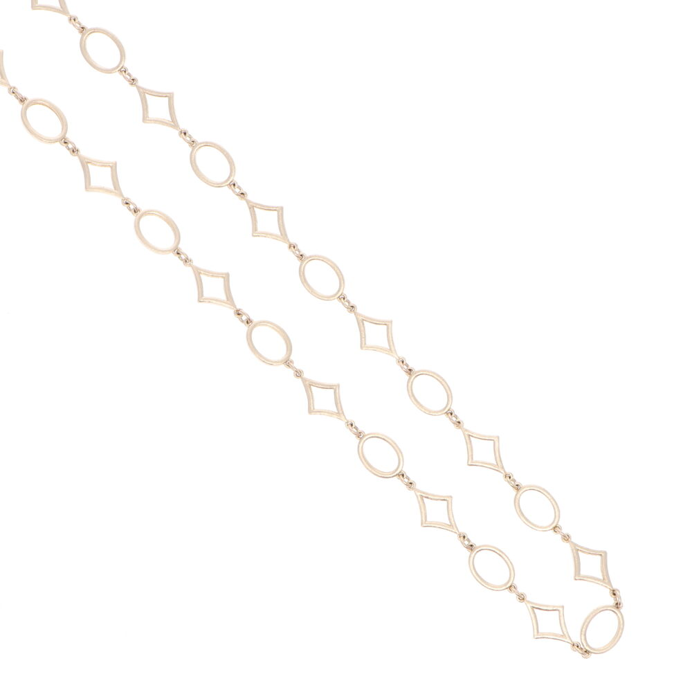 Image 2 for Limited Edition Yellow Gold Star Link Chain 18""