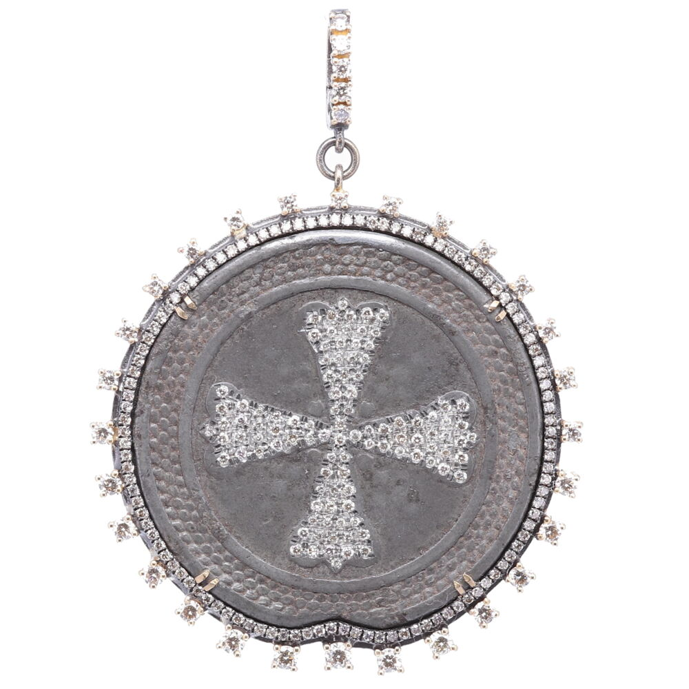Russian Maltese 1700's Coat of Arms Pendant