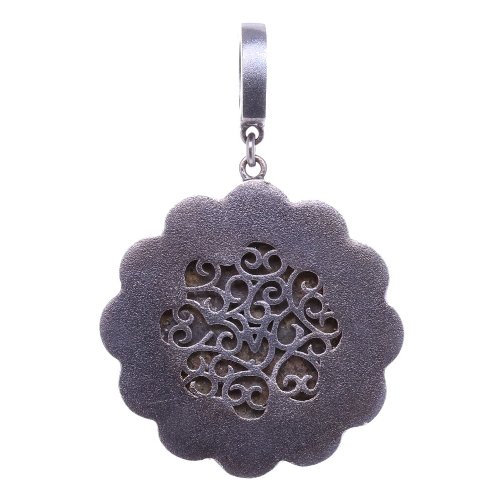 Image 2 for 15-16th C. Flower shaped Artifact Pendant
