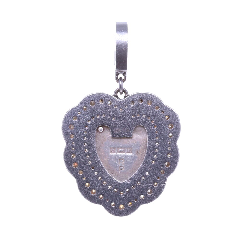 Image 2 for Vintage English Heart Padlock Pendant