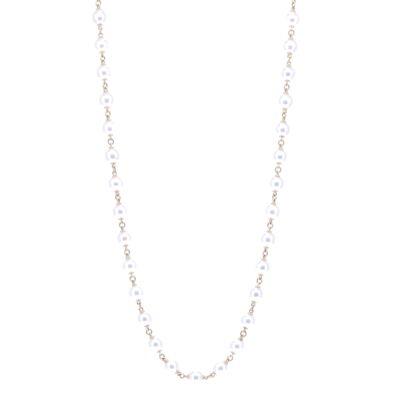 """Closeup photo of Limited Edition Akoya Pearl Necklace 31"""""""