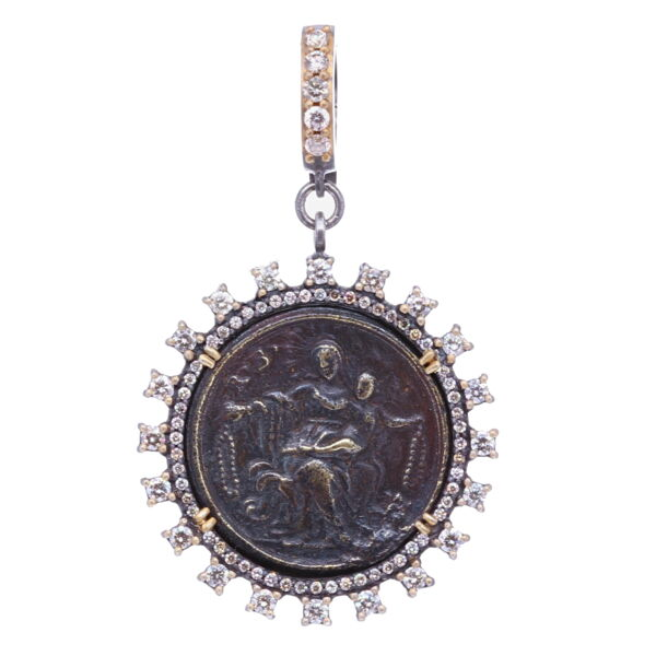 Closeup photo of 16th C. St. Vincent Pendant