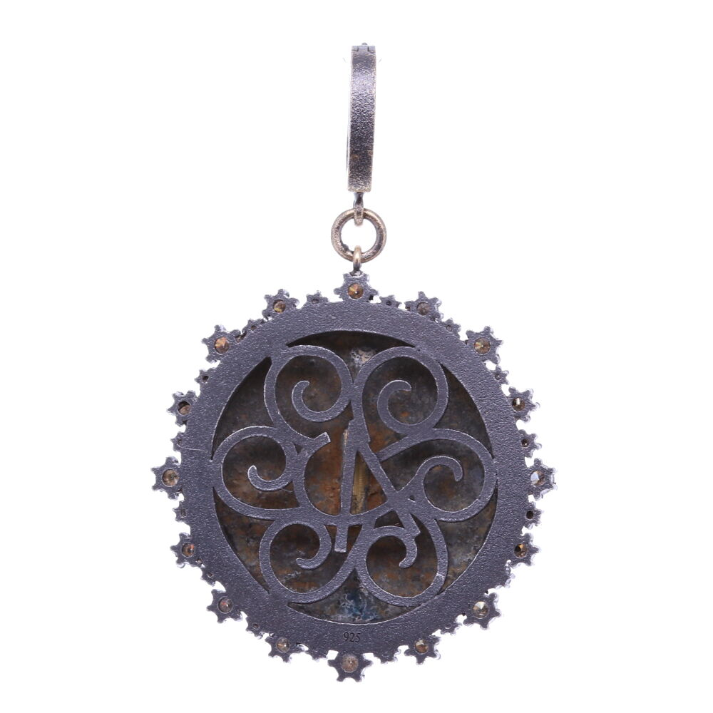 Image 2 for 16th C. Medieval Flower Pendant