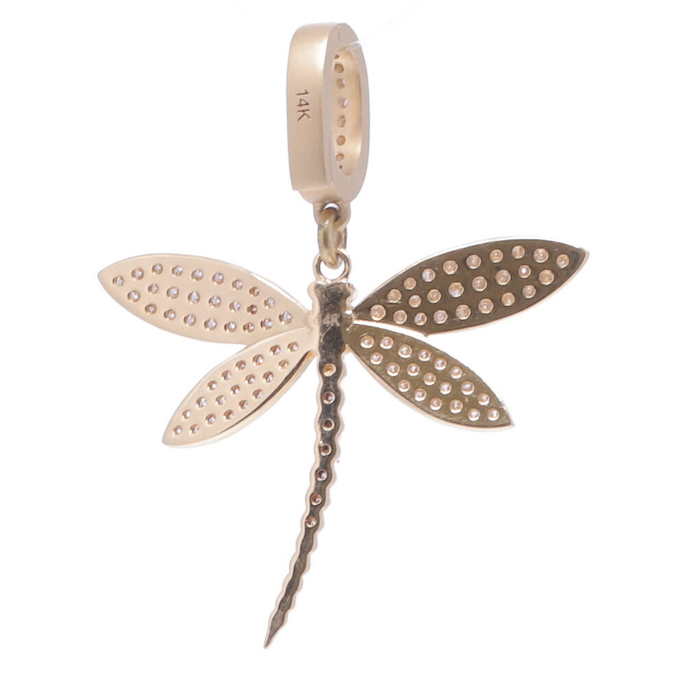 Image 2 for Dragonfly Diamond Pendant