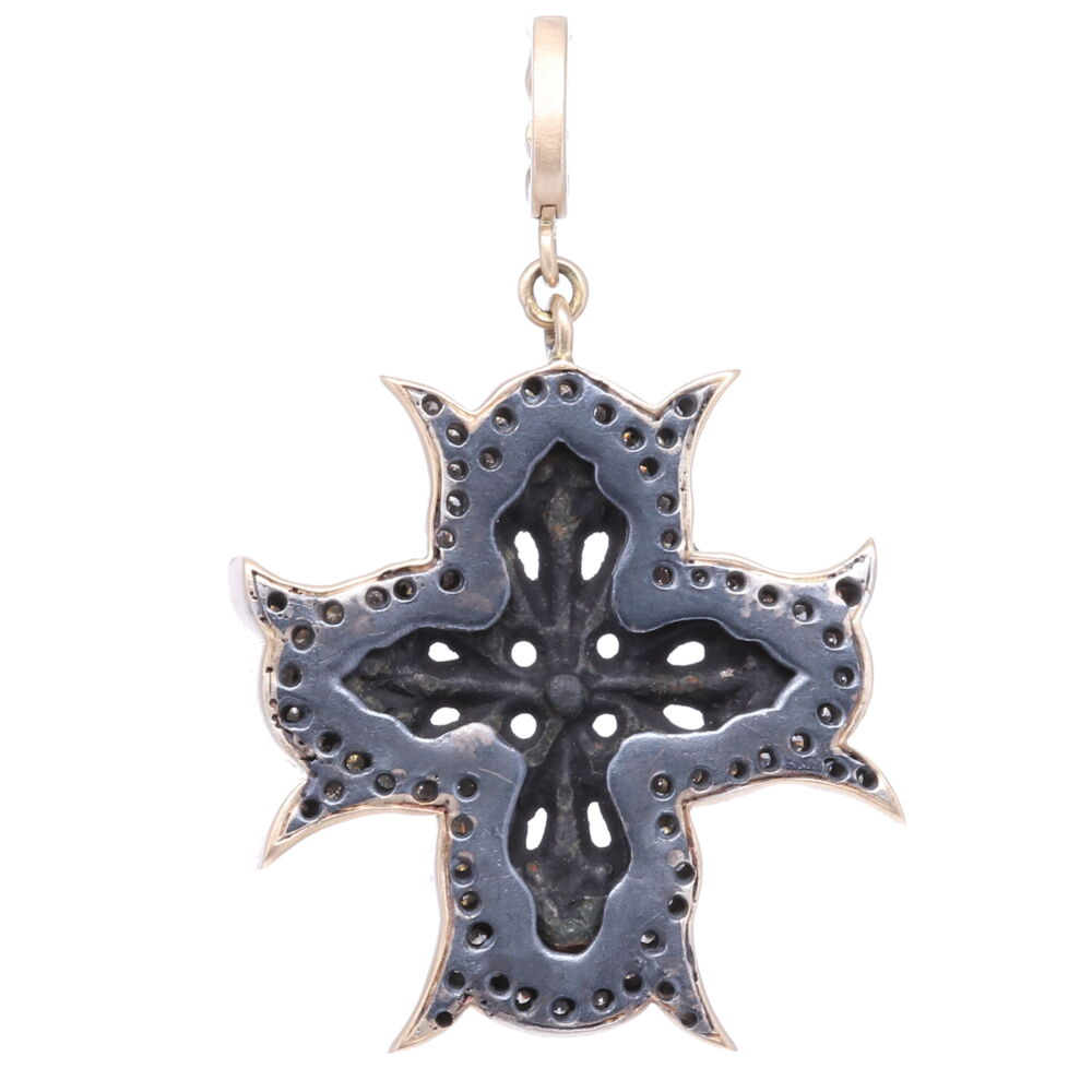 Image 2 for Intricate Artifact Cross Pendant