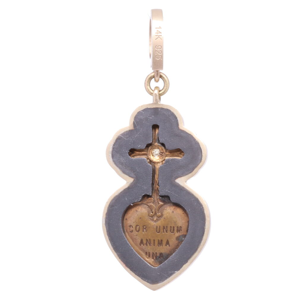 Image 2 for Latin Sacred Heart Pendant