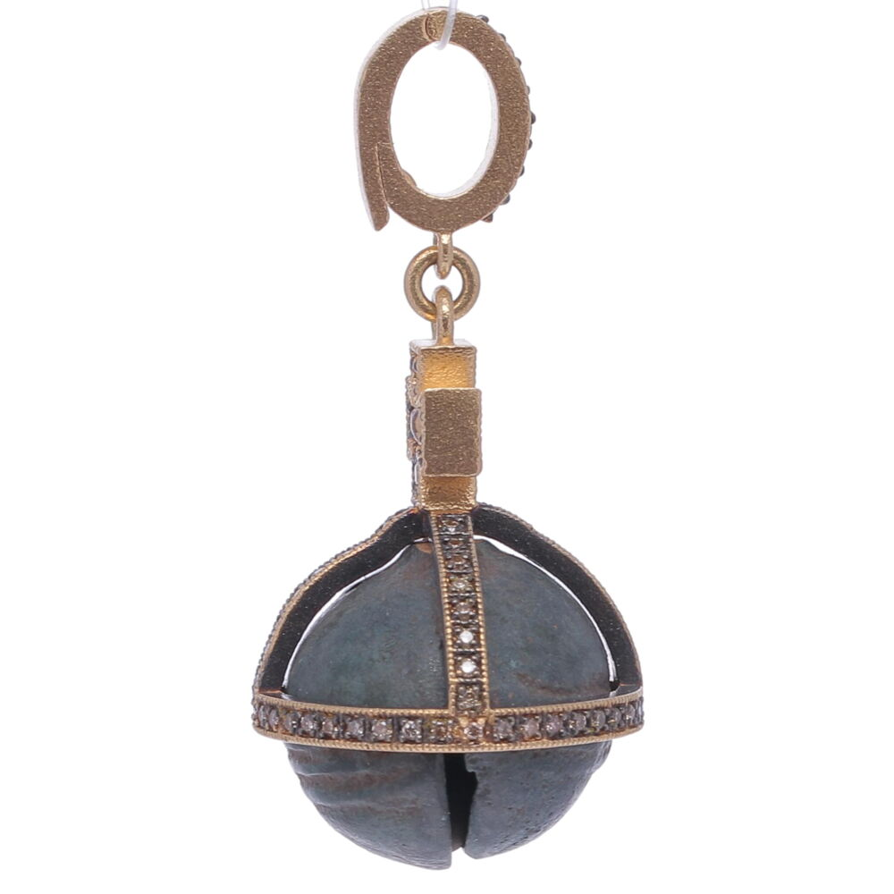 Image 2 for Antique Bell with Cross Pendant