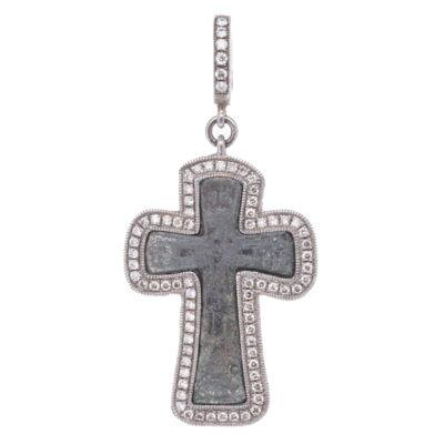 Mini Byzantine Cross Pendant
