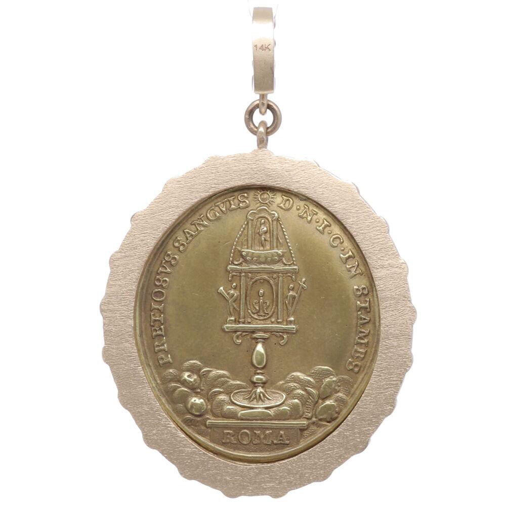 Image 2 for Latin Mary, Child and Cherub Pendant