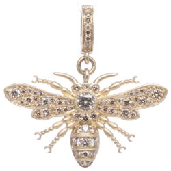 Closeup photo of Bee Pendant