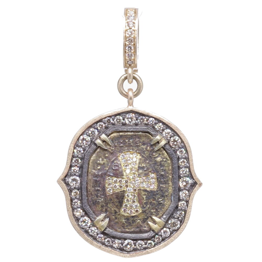 St. Benedict Cross Shield Pendant