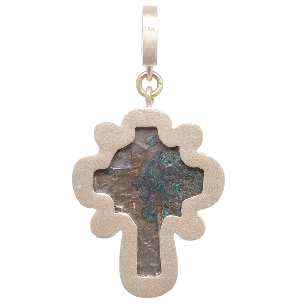 Image 2 for Old Believers Cross with a Diamond Heart