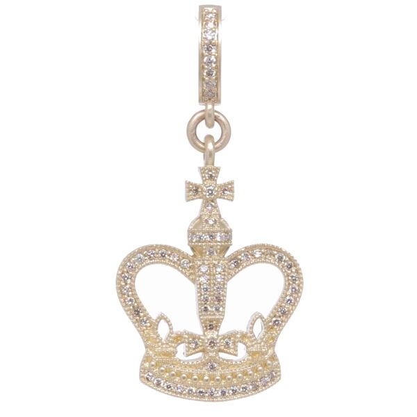 Closeup photo of Classic Crown Pendant