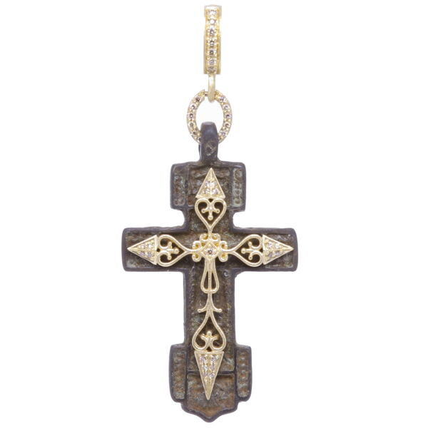 Closeup photo of Old Believers Cross Pendant